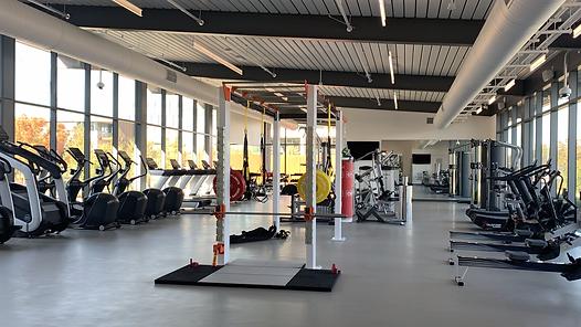 Full room company gym