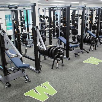 Custom Flooring in High School gyms