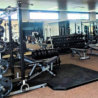High School gym ~ Bring on the Power