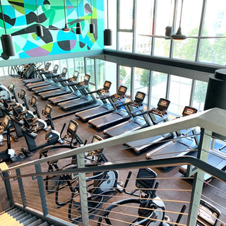 Overview of Cardio Room
