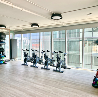 Group Fitness and Cycling Studio