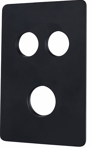 Edge Miela Double Black Spare Plate