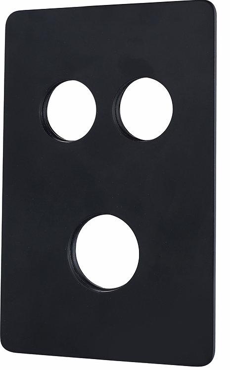 Edge Miela Double Black Spare Plate