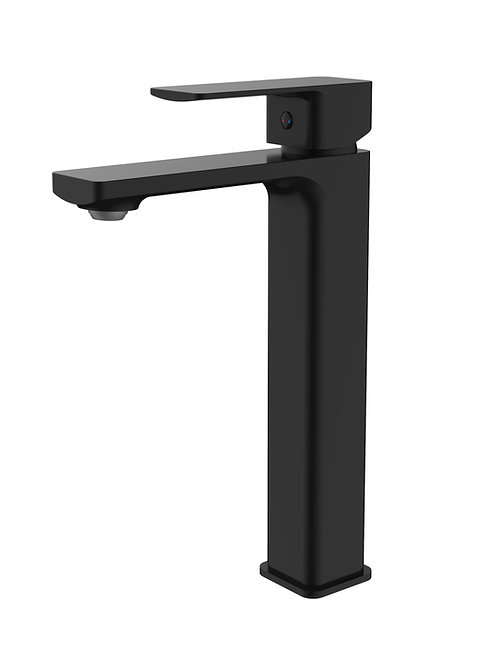Sterlyn Double Black High Rise Basin Mixer
