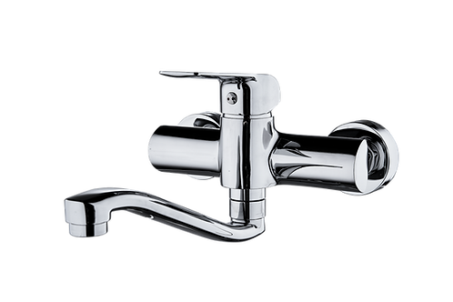 Alvar Wall Mounted Sink Mixer