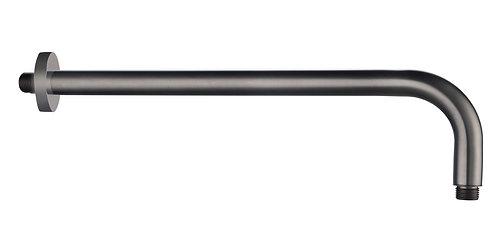 Edge Miela Graphite Shower Arm 400mm Long