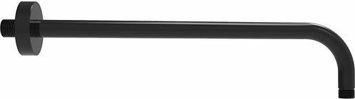 Edge Miela Double Black Shower Arm 400mm Long