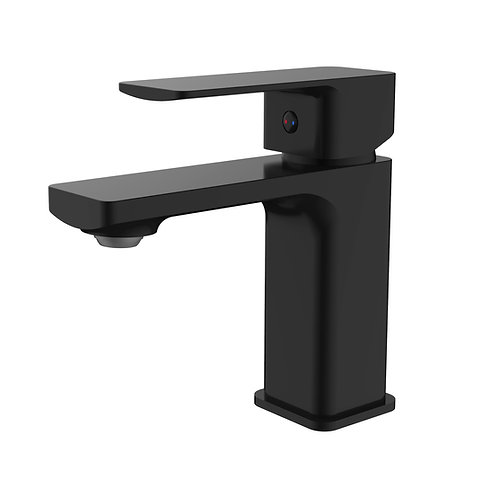 Sterlyn Double Black Basin Mixer