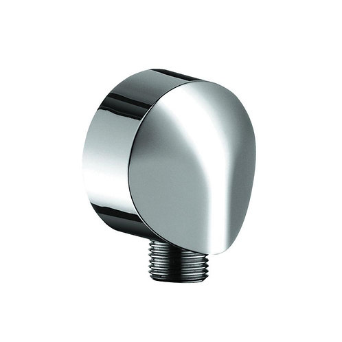 Edge Miela Chromed Round Wall Outlet