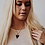 Thumbnail: Black Triangle Stone Necklace