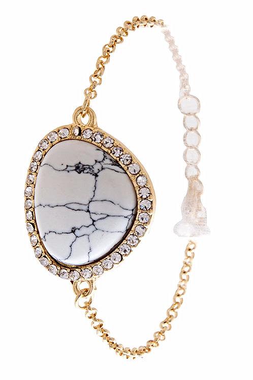 Elegant Marble Bracelet