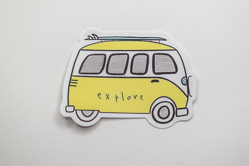 Explore VW Sticker