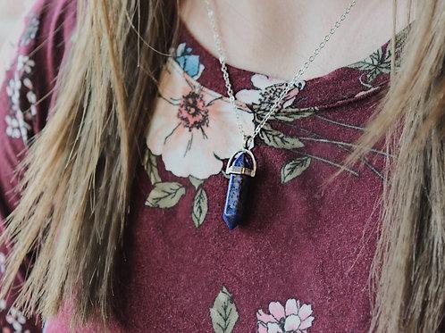 Mystique Necklace in Purple