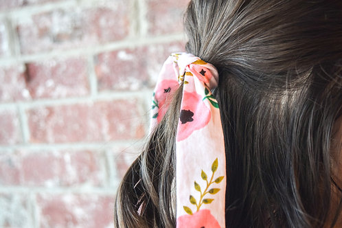 Pop of Floral Long Tie