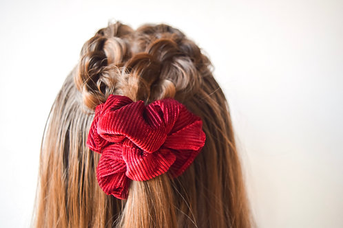 Joy Ribbed Scrunchie