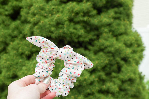 Cora Bunny Ear Scrunchie