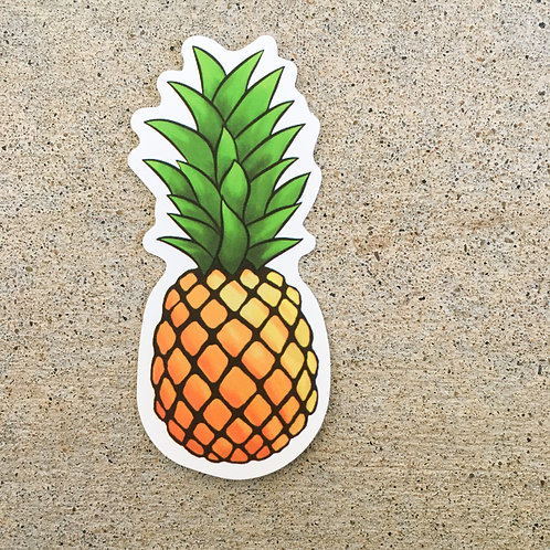 Pineapple 3 Sticker