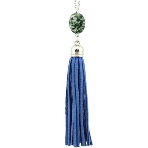 Tassel Pendant In Blue