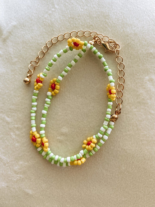 Have I Told You Flower Beaded Choker