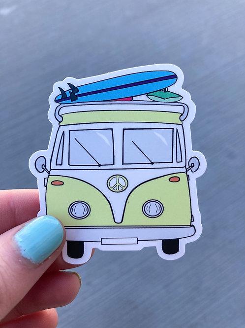 Adventure Van Sticker