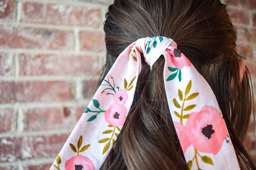 Pop of Floral Mini Hair Scarf