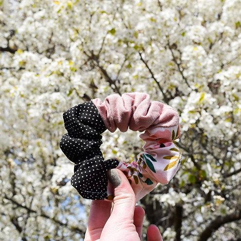 Spring Lover Colorblock Scrunchie
