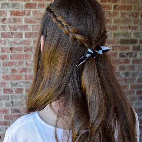 Check Hair Tie