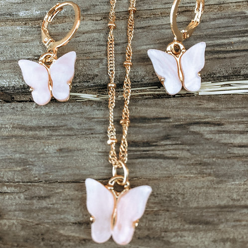 Pink You Give Me Butterflies Set