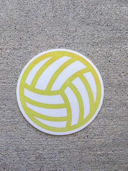 Volly Ball Sticker