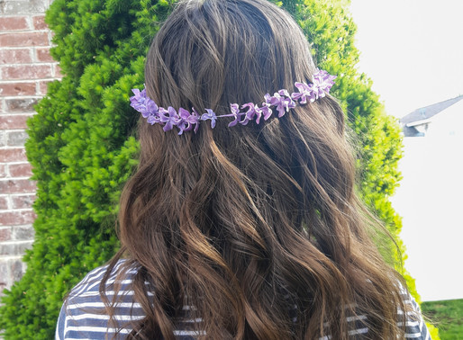 DIY Lilac Crowns