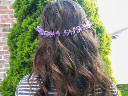 DIY Lilac Crowns