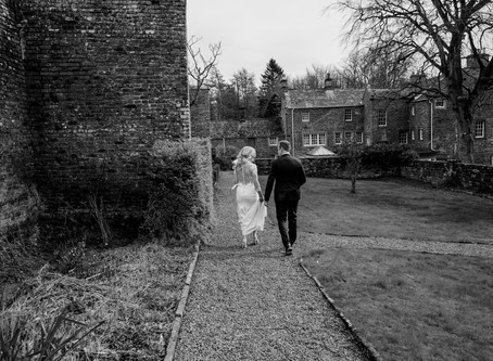 Sharon + Al - Intimate church wedding with all the feels!