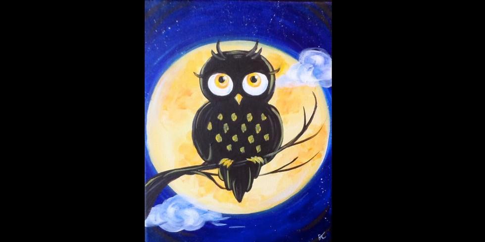 Night Owl ~ COOKIES & CANVAS