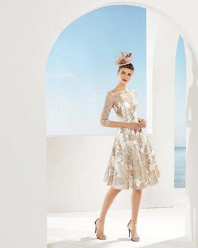 Rosa Clara Brocade Dress