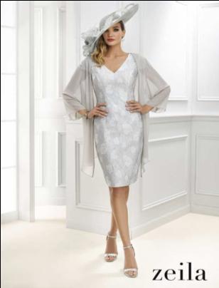 Super MOTB Dress & Shawl by Zeila