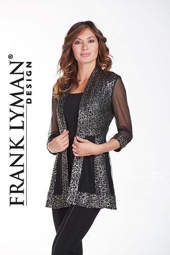 Frank Lyman Stunning Black & Gold Jacket
