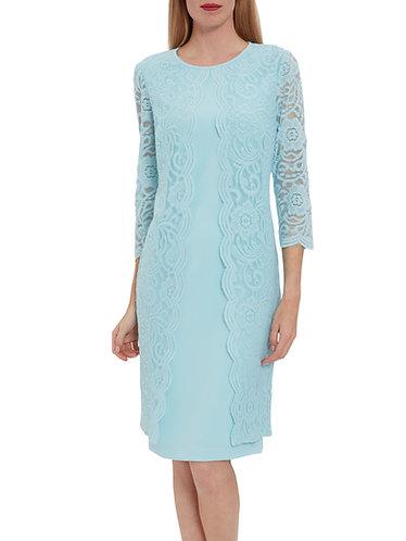 GinaBacconi Stunning Coat Dress