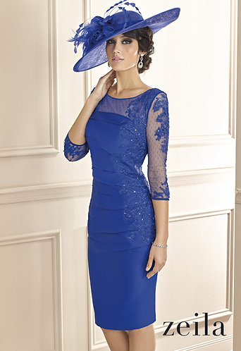 Cabotine Mother of the Bride Dress in Royal