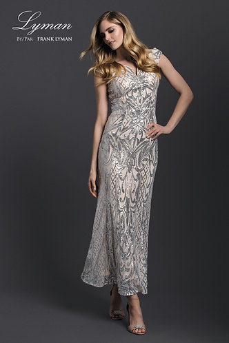 Frank Lyman Sequinned Evening Dress