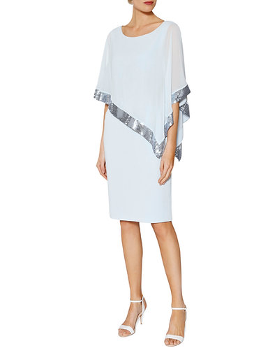 Gina Bacconi Shawl Dress