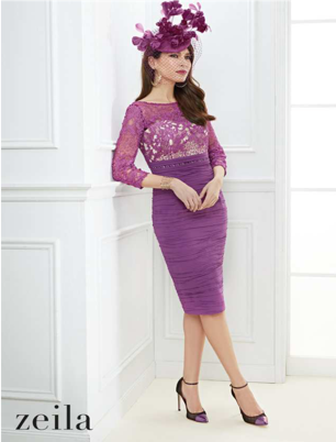 Zeila Fabulous Dress With Lace Top