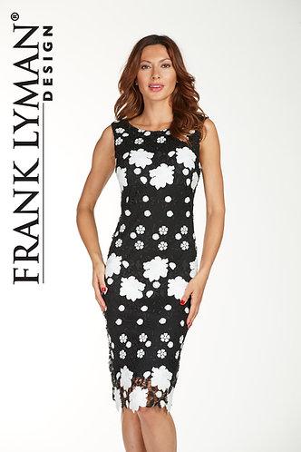 Frank Lyman Black & White Dress