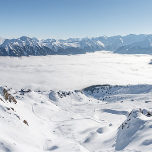 Gipfelblick in Gastein