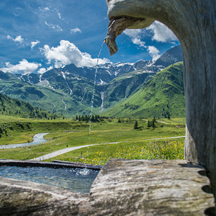 Brunnen im Nationalpark