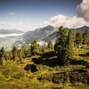 Ausblick vom Graukogel