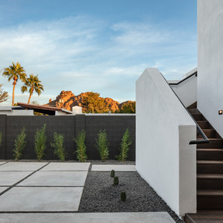 Rooftop Staircase
