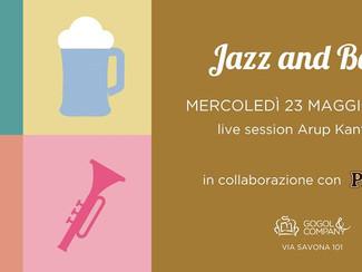 Jazz&beer - mercoledì 23 maggio
