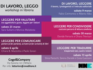 DI LAVORO, LEGGO– workshop inlibreria