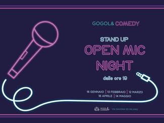 OPEN MIC NIGHT - stand up comedy - giovedì 13 febbraio