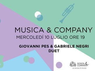 MUSICA&COMPANY - mercoledì 10 luglio